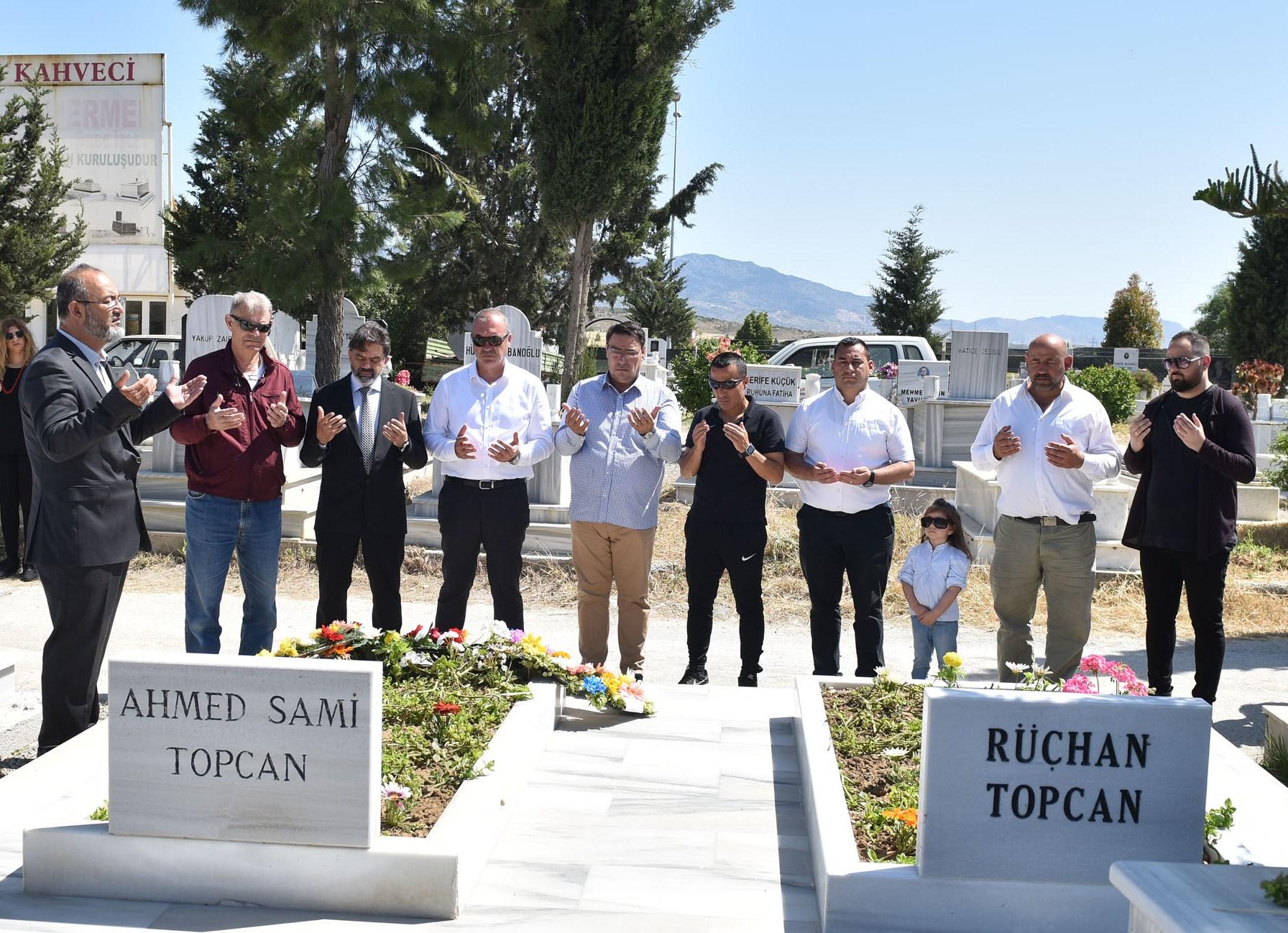 Ahmed Sami Topcan anıldı